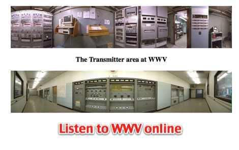 Listen to WWV online