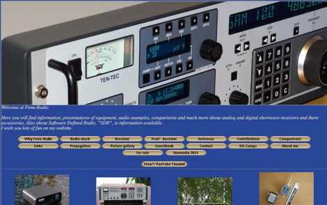 Fenu-Radio Shortwave Receivers and more