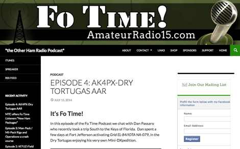 Fo Time the Other Ham Radio Podcast