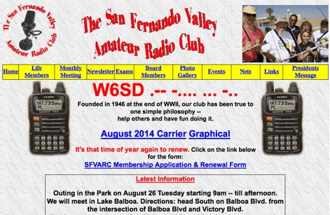 W6SD San Fernando Valley Amateur Radio Club
