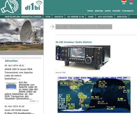 DL1BI German Amateur Radio Station