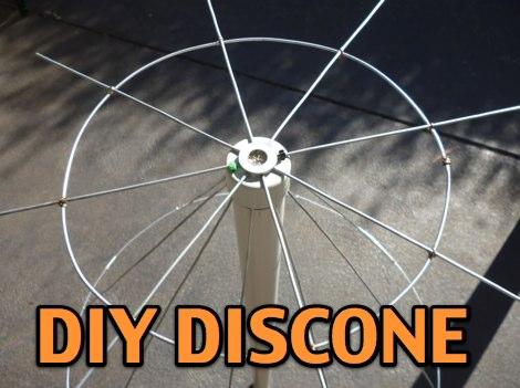Home Made Discone Antenna