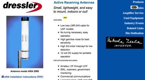 Active antennas