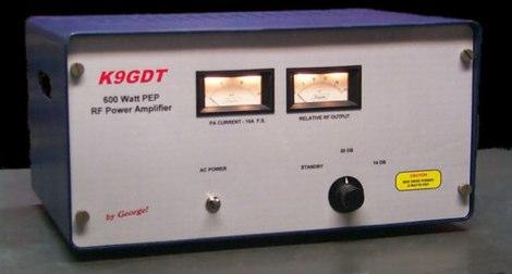 600 Watt HF Amplifier