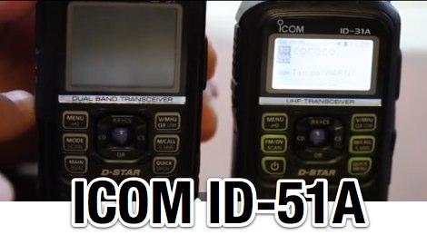 Icom ID-51 (ID-51A)  Review