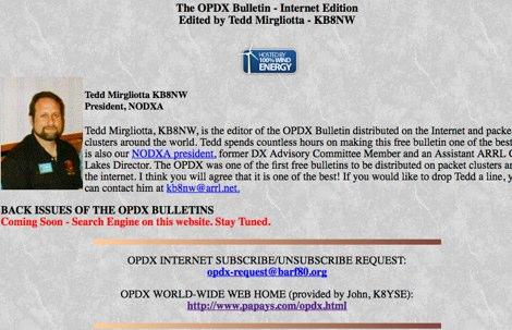 The OPDX Bullettin
