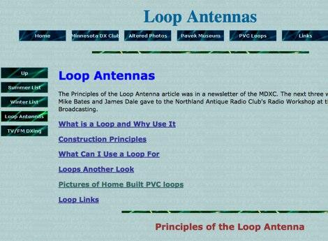 Loop Antenna info