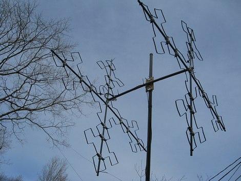Fractal Quad for 28 MHz band