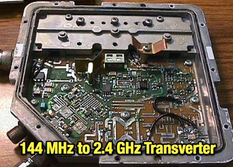 144 MHz to 2.4 GHz Transverter
