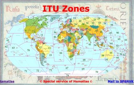 Ham Radio Maps Operating Aids Maps Page - Us map of ham radio call sign prefixes