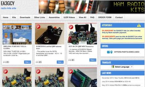 EA3GCY Radio Kits