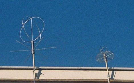 Eggbeater Antenna
