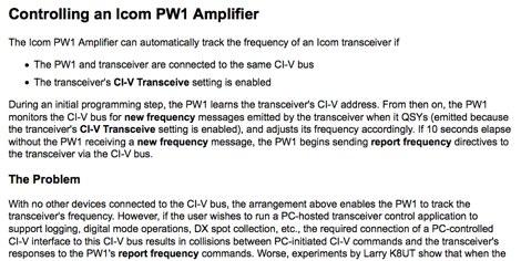 Icom PW-1
