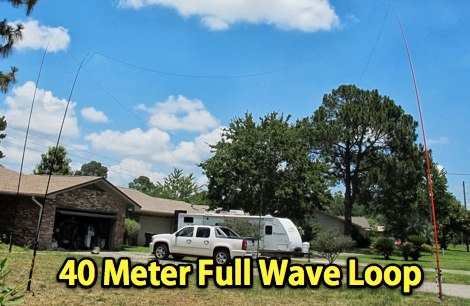 40 Meter Full Wave Loop