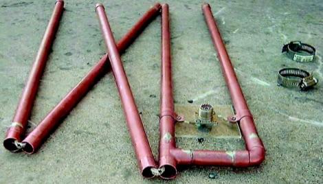 Folding J-Pole Antenna