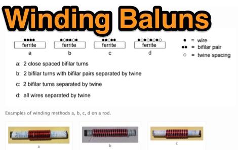 Simple HF Baluns for 50/75 ohm coax