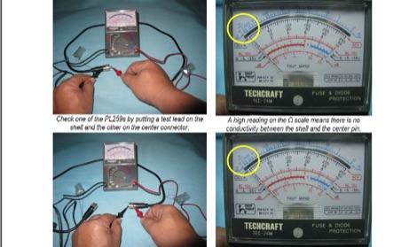 Testing Coax Cables