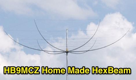 HB9MCZ Home Made HexBeam