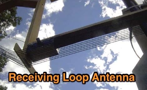 Receiving antennas