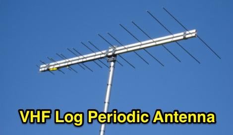Vhf Log Periodic Antenna