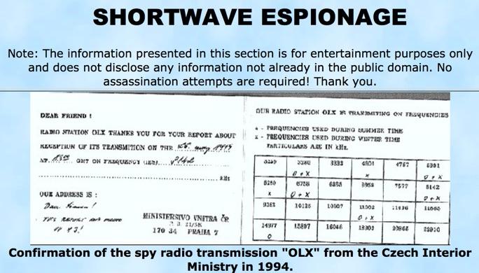 Short Wave Espionage