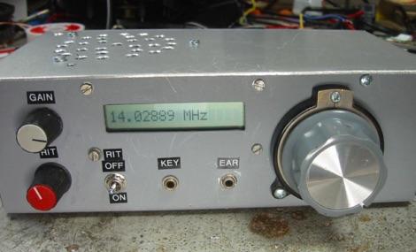 20m QRP CW Transceiver