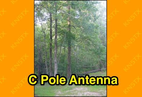 C pole antenna