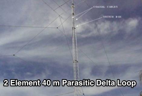 K4TX Delta Loop for 40 Meters