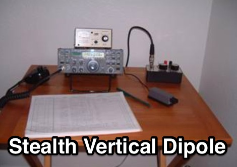The Adventures of a Stealth Vertical Dipole