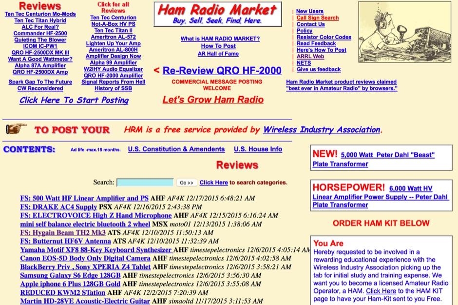 Ham Radio Market
