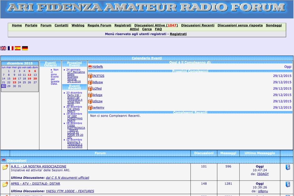 ARI Fidenza Forums