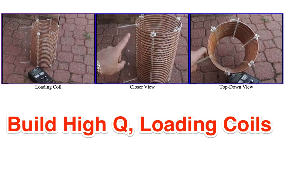 Building High Power, High Q, Loading Coils