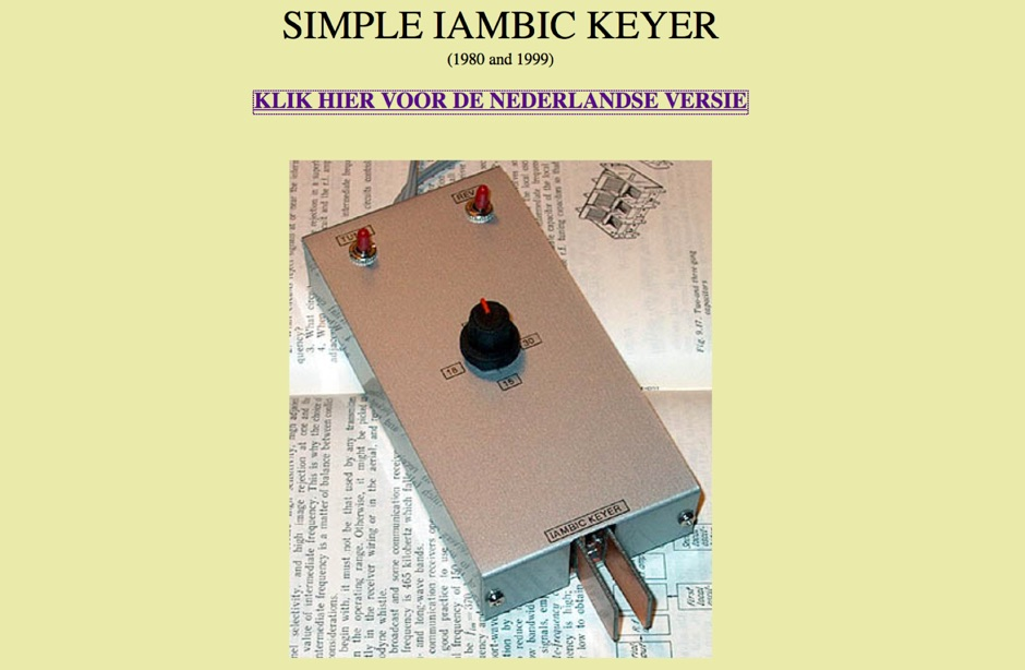 A simple iambic keyer