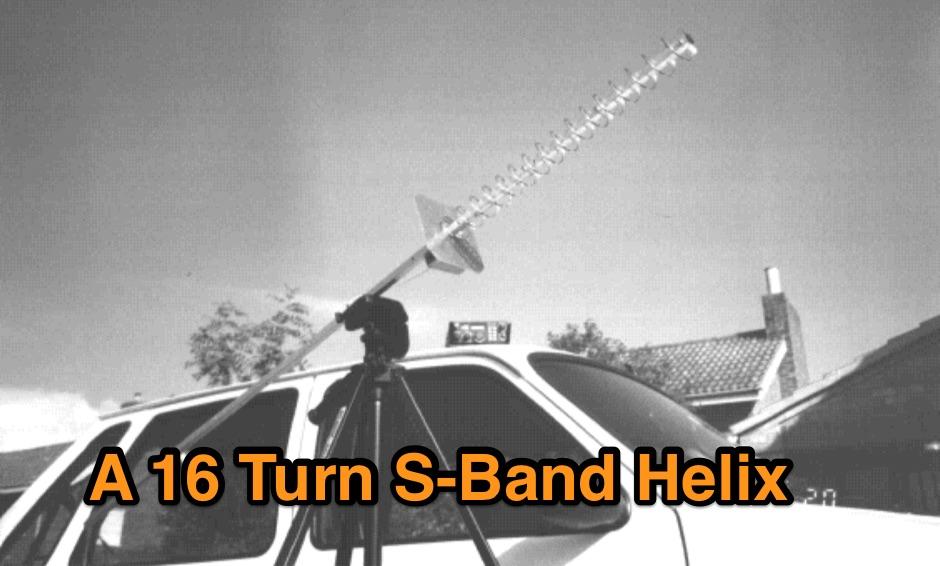 A 16 Turn S-Band Helix