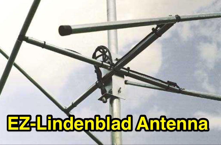 EZ-Lindenblad Antenna for 2 Meters