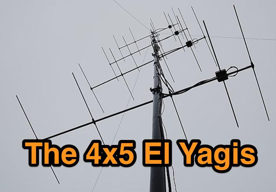 2m VHF antennas with high gain