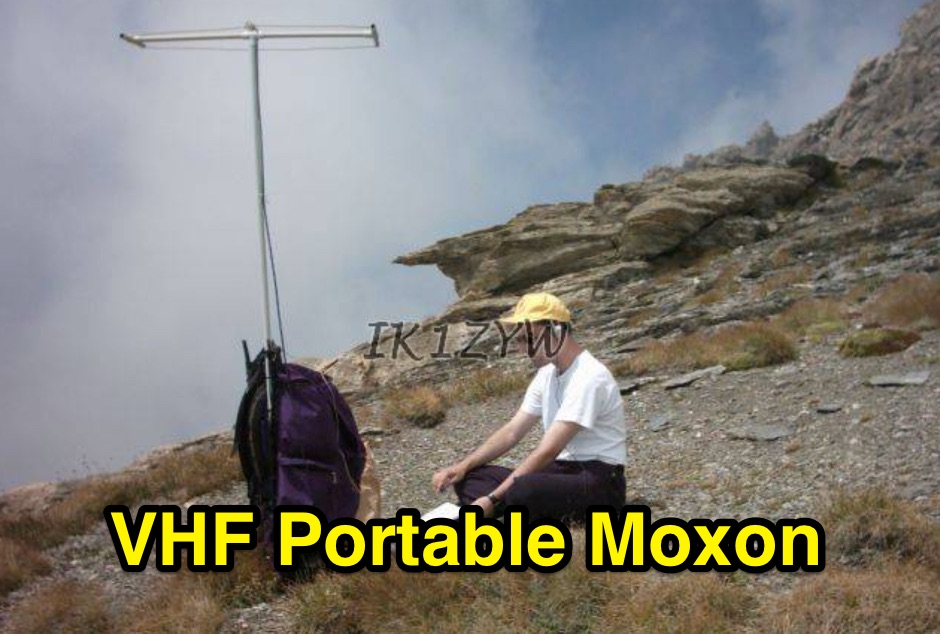 Experiments with a Moxon Rectangle antenna