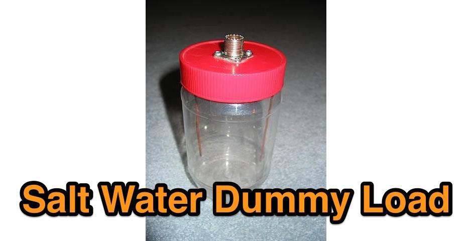 Salt water dummy load