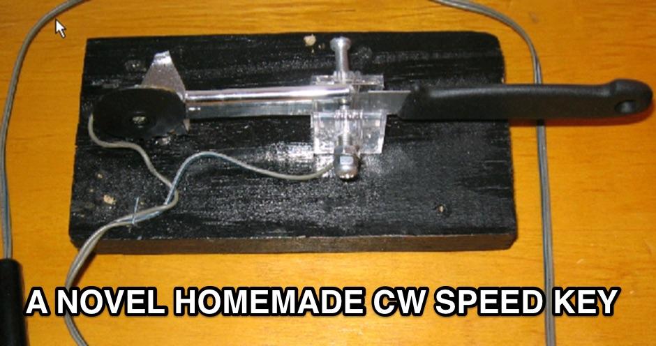 Homemade CW Keyer