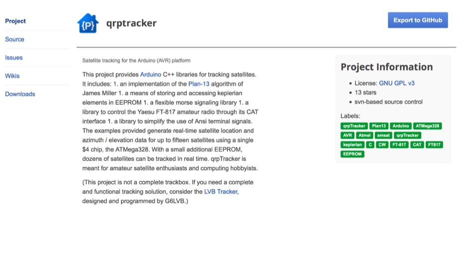 qrpTracker