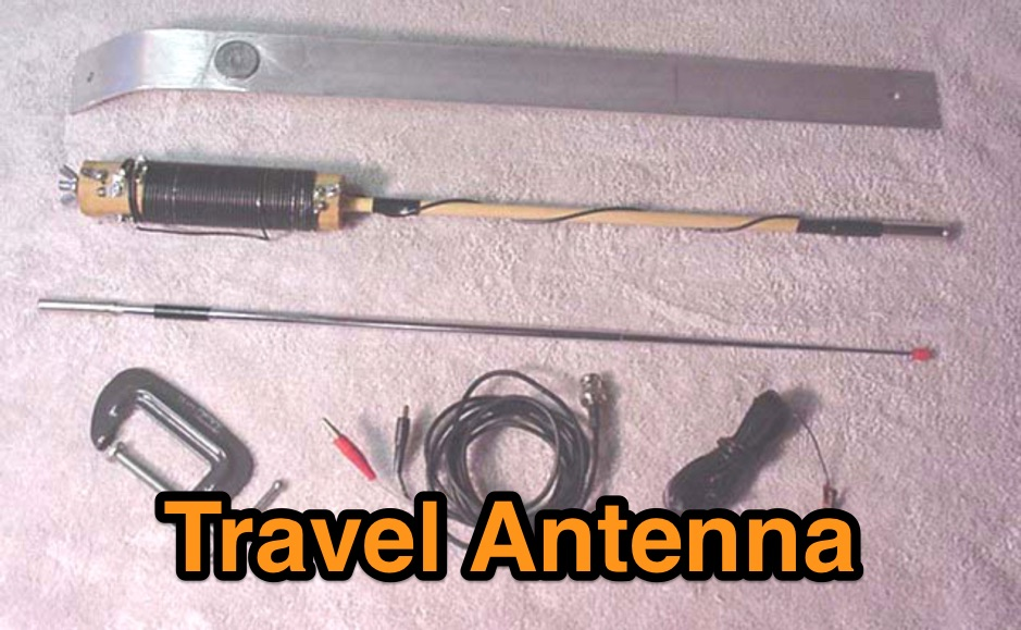 Homebrew 20/40m Travel Antenna