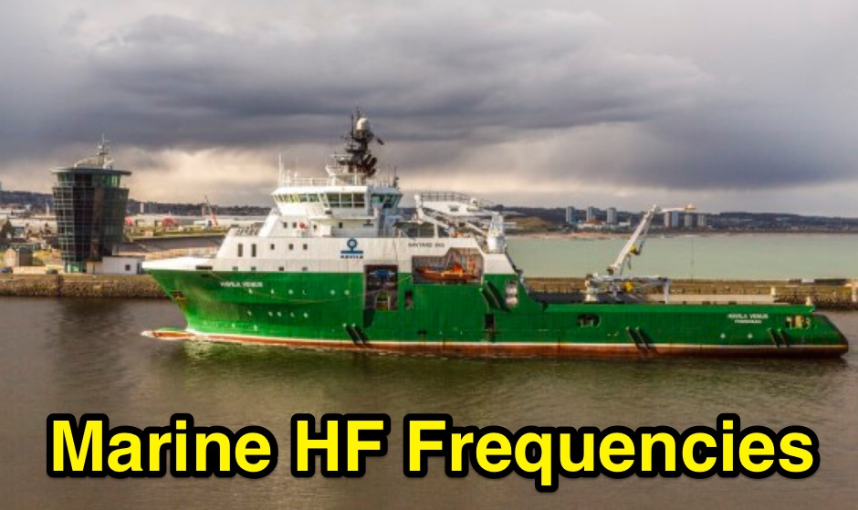 Maritime Radio Frequencies and Nets