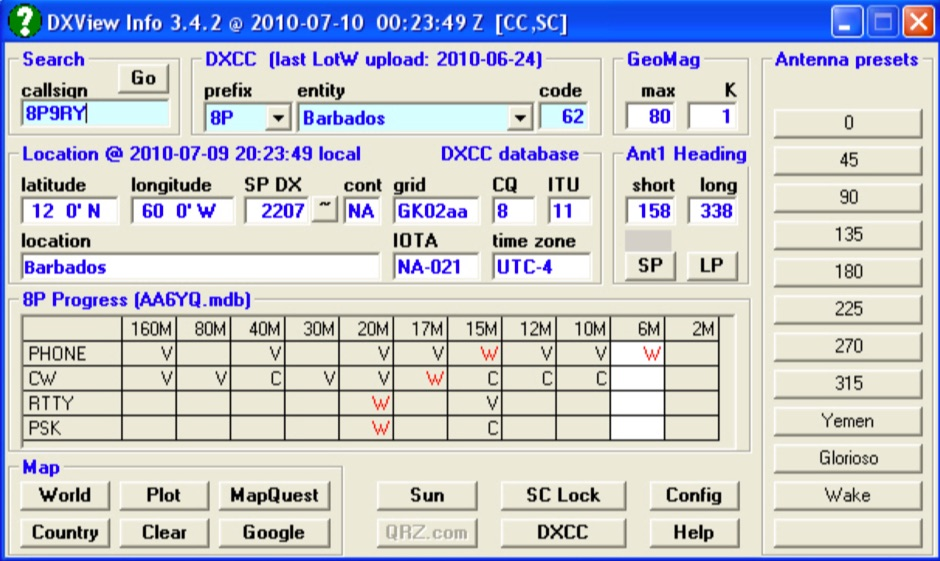 Grid Software Grid Bearing And Maps - Us maidenhead grid square map