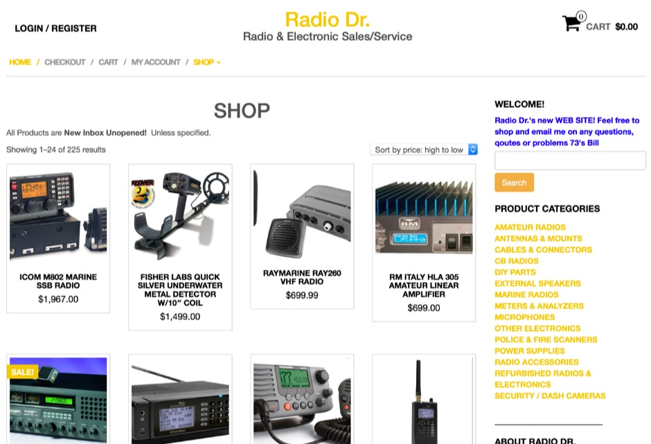 Radio Equipment Repair