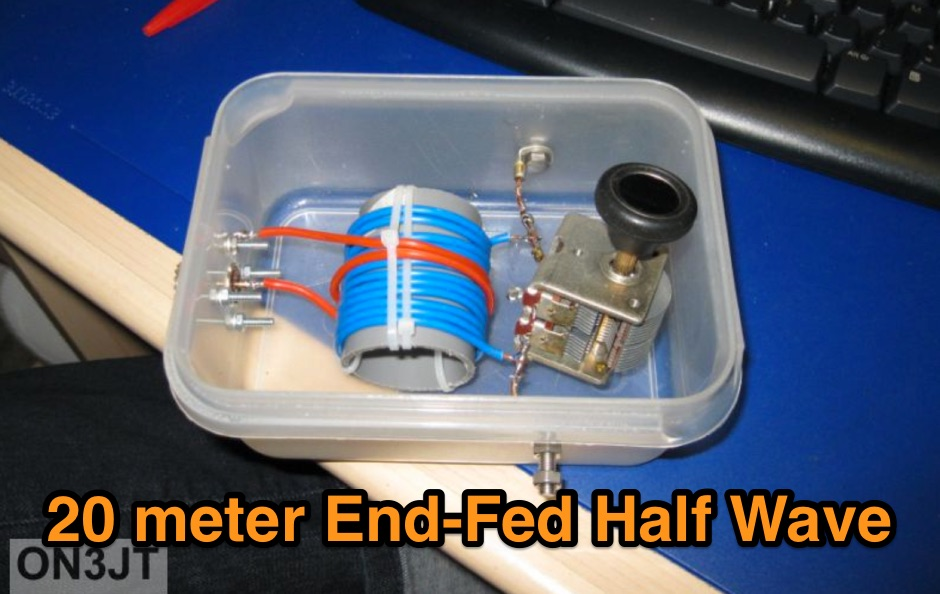 20m End Fed Antenna