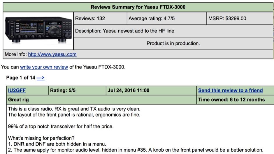 Yaesu FTDX-3000