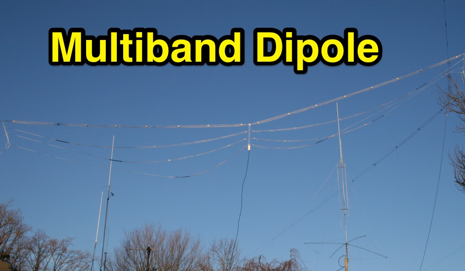 Multi Band Cage Dipole
