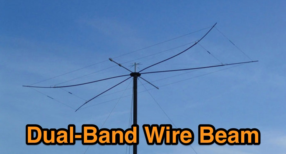 Dual Band Wire Beam 12 and 17 m