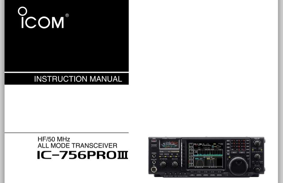 IC-756Pro3 User Manual