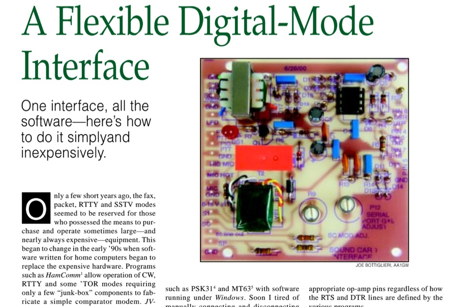 A Flexible Digital-Mode Interface